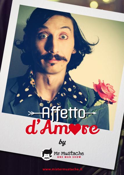 Mister mustache – mr mustache – franco di berardino – artista di strada – spettacolo comico – clown – attore comico