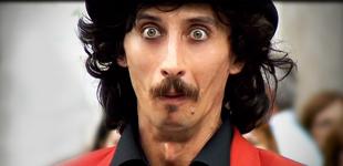 mister mustache – clown – attore comico